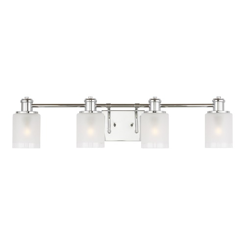 Sea Gull Lighting Sea Gull Lighting Norwood Chrome Bathroom Light 4439804-05