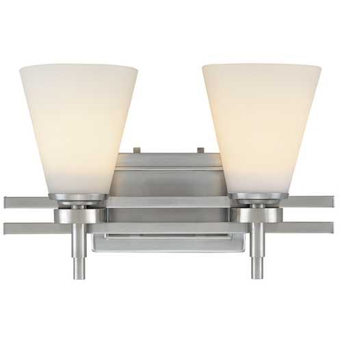 Dolan Designs Lighting Two-Light Bathroom Fixture 3212-09