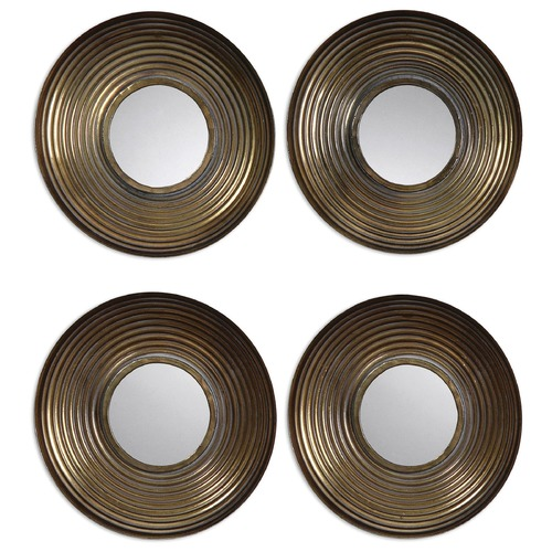 Uttermost Lighting Uttermost Tondela Round Mirrors Set/4 12858