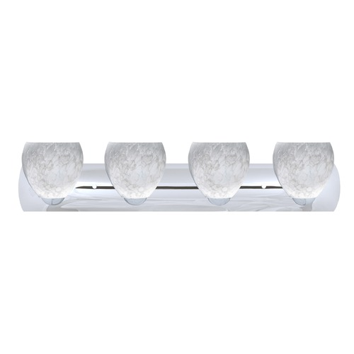 Besa Lighting Besa Lighting Bolla Chrome LED Bathroom Light 4WZ-412219-LED-CR