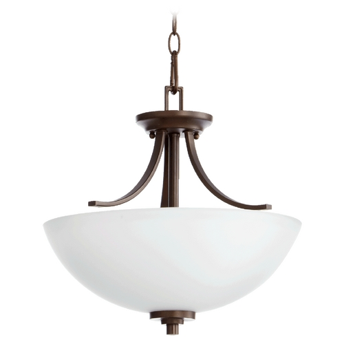 Quorum Lighting Quorum Lighting Reyes Oiled Bronze Pendant Light 2760-16-86