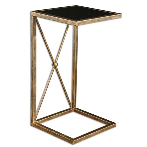 Uttermost Lighting Uttermost Zafina Gold Side Table 25014