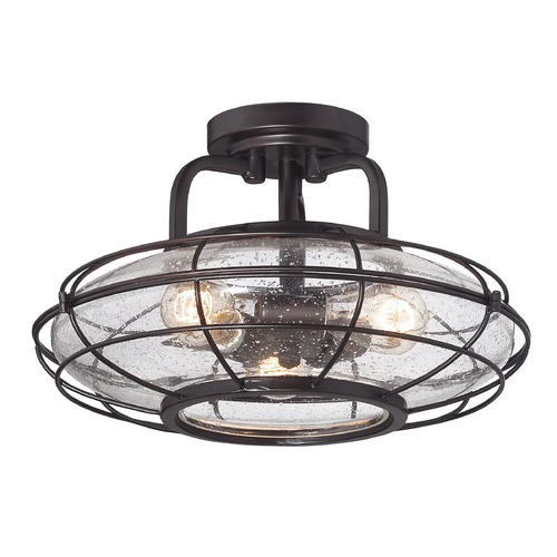Savoy House Savoy House Lighting Connell English Bronze Semi-Flushmount Light 6-574-3-13