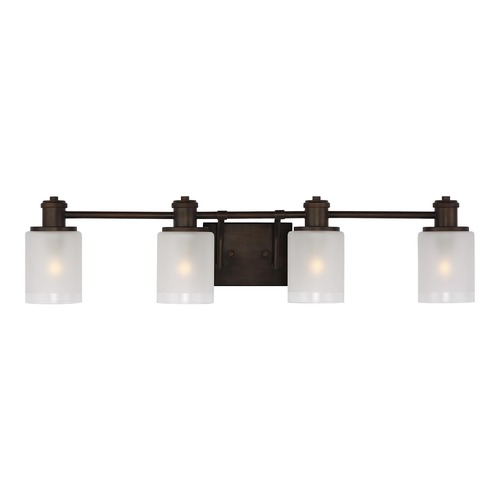 Sea Gull Lighting Sea Gull Lighting Norwood Bronze Bathroom Light 4439804-710