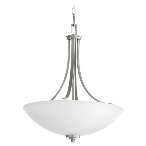 Quorum Lighting Quorum Lighting Reyes Classic Nickel Pendant Light 8060-4-64