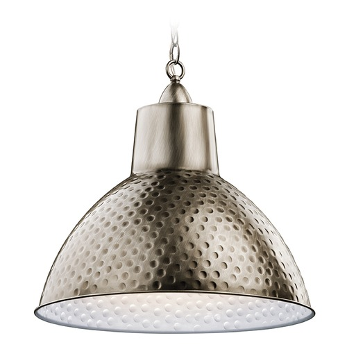 Kichler Lighting Kichler Lighting Missoula Pendant Light with Bowl / Dome Shade 42800AP
