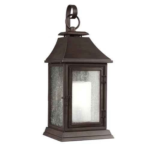 Feiss Lighting Feiss Lighting Shepherd Heritage Copper Outdoor Wall Light OL10603HTCP