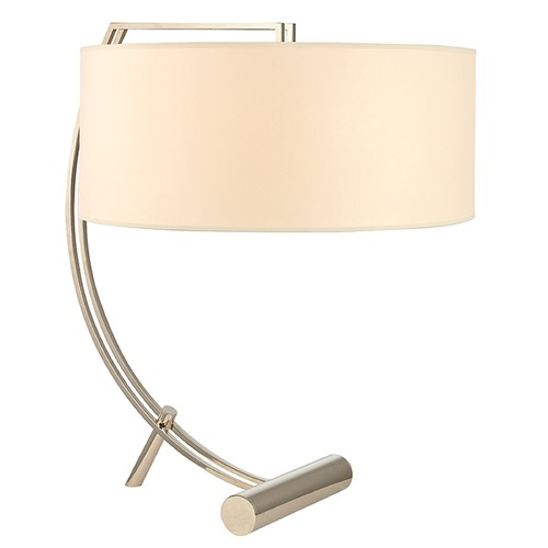 Hudson Valley Lighting Deyo 2 Light Table Lamp Drum Shade - Polished Nickel L400-PN