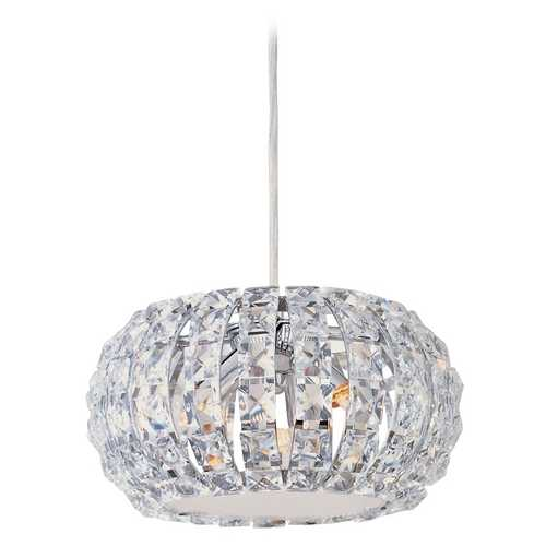 ET2 Lighting Crystal Mini-Pendant Light with3-Lights E21803-20PC