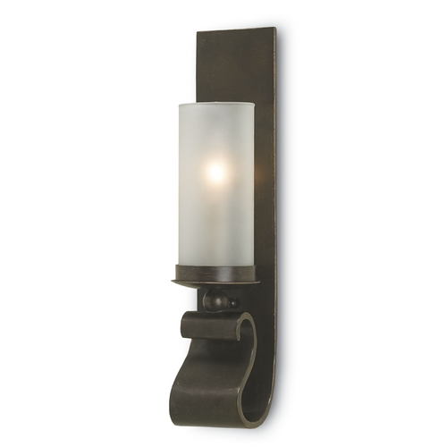 Currey and Company Lighting Currey and Company Lighting Bronze Gold Sconce 5148