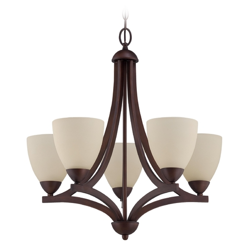 Jeremiah Lighting Jeremiah Lighting Almeda Old Bronze Chandelier 37725-OB