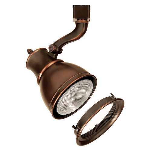 WAC Lighting Wac Lighting Antique Bronze Track Light Head JTK-798-LENS-AB