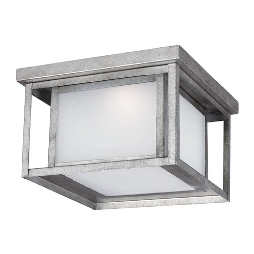 Sea Gull Lighting Sea Gull Hunnington Weathered Pewter LED Close To Ceiling Light 7903991S-57