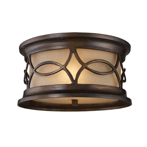 Elk Lighting Close To Ceiling Light in Hazelnut Bronze Finish 41999/2