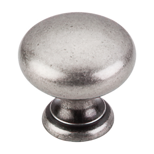 Top Knobs Hardware Cabinet Knob in Pewter Antique Finish M286