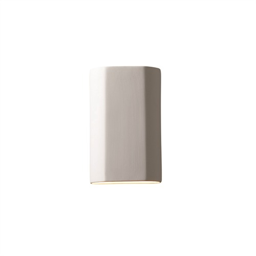 Justice Design Group Sconce Wall Light in Bisque Finish CER-5505-BIS