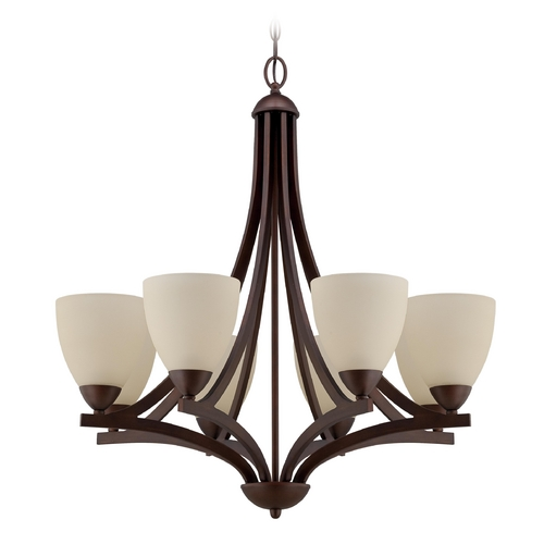 Craftmade Lighting Craftmade Almeda Old Bronze Chandelier 37728-OB