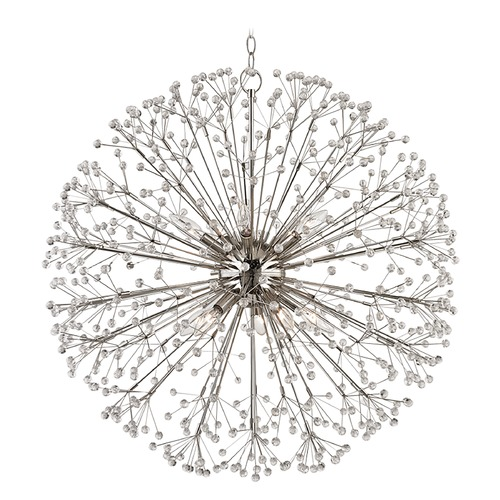 Hudson Valley Lighting Hudson Valley Lighting Dunkirk Polished Nickel Pendant Light 6030-PN