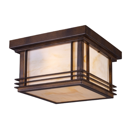 Elk Lighting Close To Ceiling Light in Hazelnut Bronze Finish 42106/2