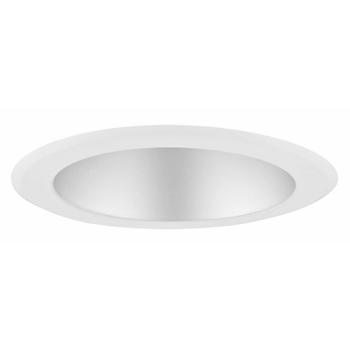Recesso Lighting by Dolan Designs Satin Reflector Trim for 5-Inch Recessed Cans T500S-WH