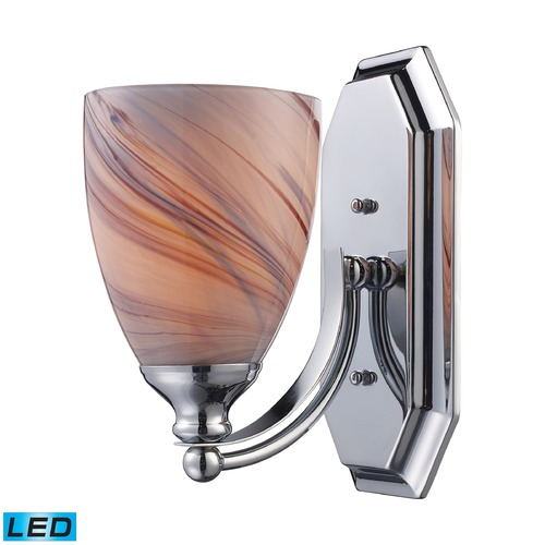 Elk Lighting Elk Lighting Bath and Spa Polished Chrome LED Sconce 570-1C-CR-LED