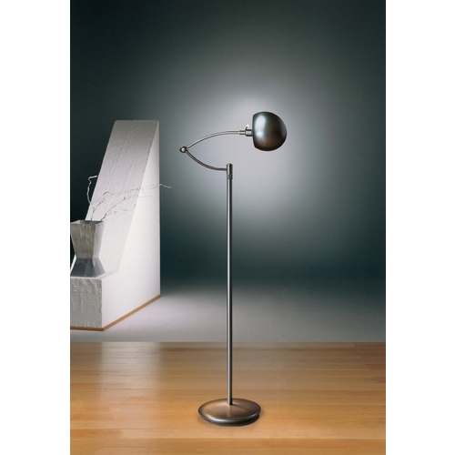 Holtkoetter Lighting Holtkoetter Modern Swing Arm Lamp in Hand-Brushed Old Bronze Finish 6450P1 HBOB