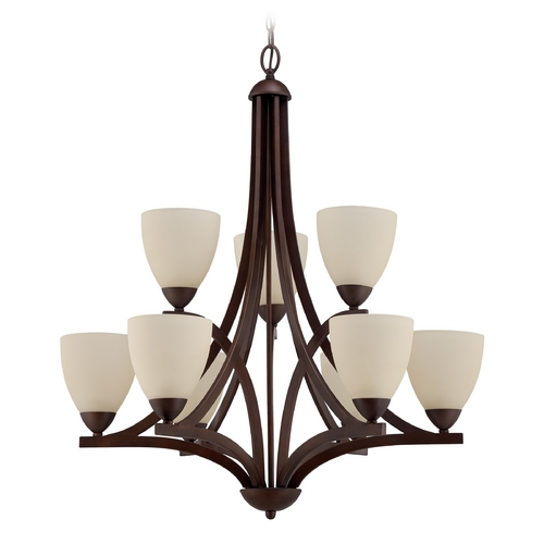 Jeremiah Lighting Jeremiah Lighting Almeda Old Bronze Chandelier 37729-OB