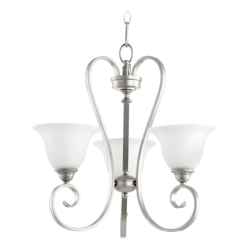 Quorum Lighting Quorum Lighting Celesta Classic Nickel Chandelier 6053-3-64