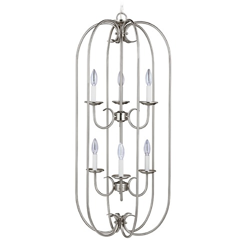 Sea Gull Lighting Sea Gull Lighting Holman Brushed Nickel Pendant Light 51807-962