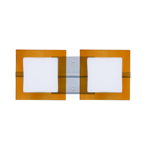 Besa Lighting Besa Lighting Alex Chrome Bathroom Light 2WS-7735TG-CR