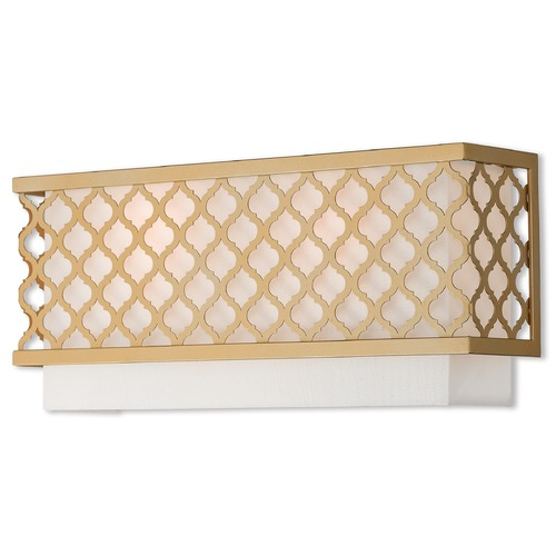 Livex Lighting Livex Lighting Arabesque Soft Gold Sconce 41103-33