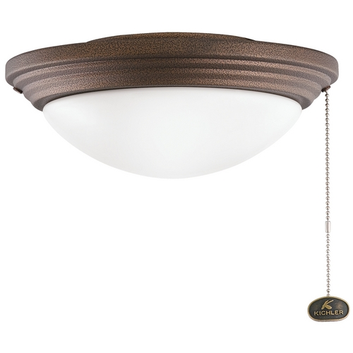 Kichler Lighting Kichler Light Kit with White in Weathered Copper Powder Coat Finish 380902WCP