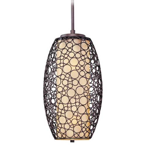 Maxim Lighting Maxim Lighting Umber Bronze Pendant Light 21341DWUB