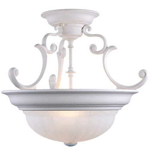 Dolan Designs Lighting Two-Light Semi-Flush Ceiling Light 524-32