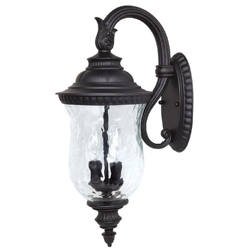 Capital Lighting Capital Lighting Ashford Black Outdoor Wall Light 9782BK