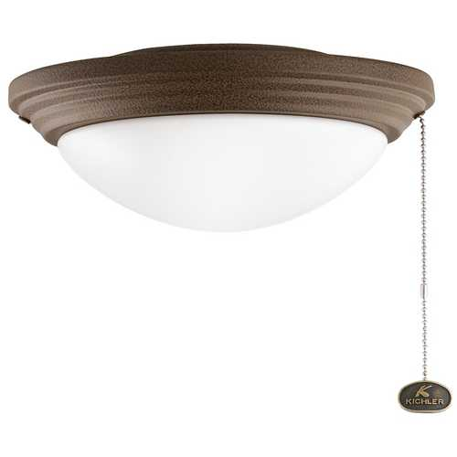 Kichler Lighting Kichler Light Kit with White in Tannery Bronze Powder Coat Finish 380902TZP