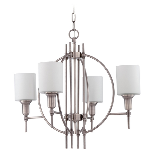 Craftmade Lighting Craftmade Meridian Antique Nickel Chandelier 37224-AN