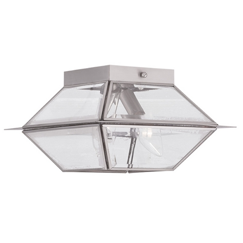 Livex Lighting Livex Lighting Westover Antique Brass Close To Ceiling Light 2184-91
