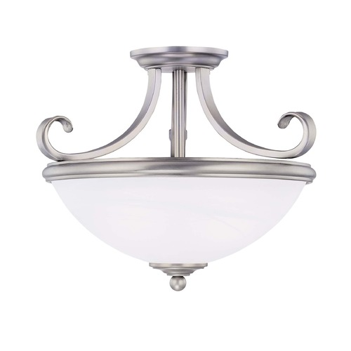 Savoy House Savoy House Pewter Semi-Flushmount Light 6-5789-2-69
