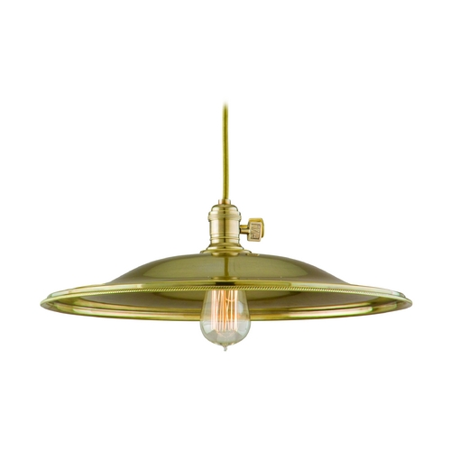 Hudson Valley Lighting Pendant Light in Historic Nickel Finish 8001-HN-MM1