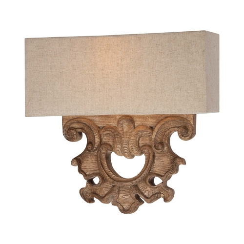 Minka Lavery Sconce Wall Lights in Classic Oak Patina Finish 5200-290