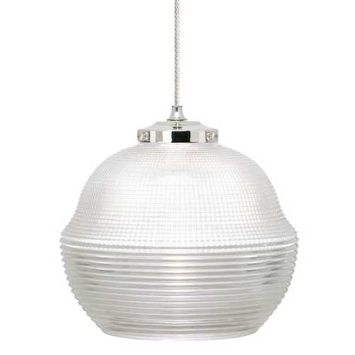 Tech Lighting Congress Halophane Mini-Pendant 600MOCNGCN/600FJ4RFN