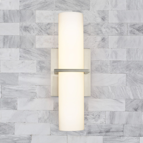 Dolan Designs Lighting Dolan Designs Satin Nickel LED Sconce 11016-09