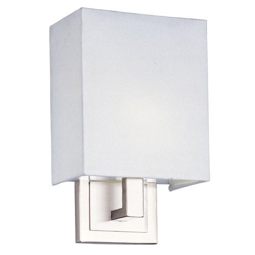 ET2 Lighting Edinburgh LED Satin Nickel LED Sconce E21080-01SN