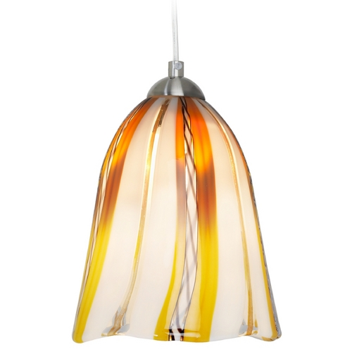 Oggetti Lighting Oggetti Lighting Amore Satin Nickel Mini-Pendant Light 18-159AE