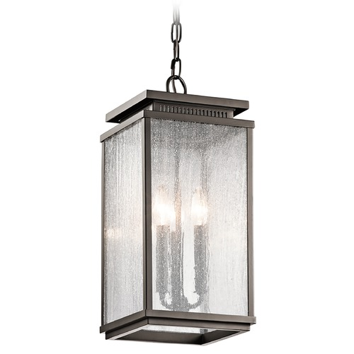 Kichler Lighting Kichler Lighting Manningham Olde Bronze Outdoor Hanging Light 49387OZ