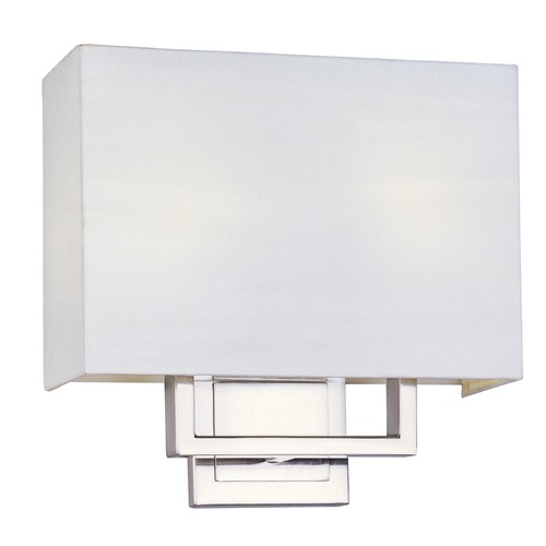 ET2 Lighting Edinburgh LED Satin Nickel LED Sconce E21081-01SN