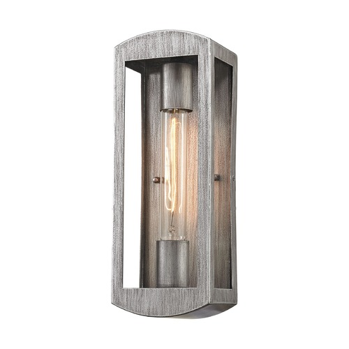 Elk Lighting Elk Lighting Trenton Silvery Ash Outdoor Wall Light 45180/1
