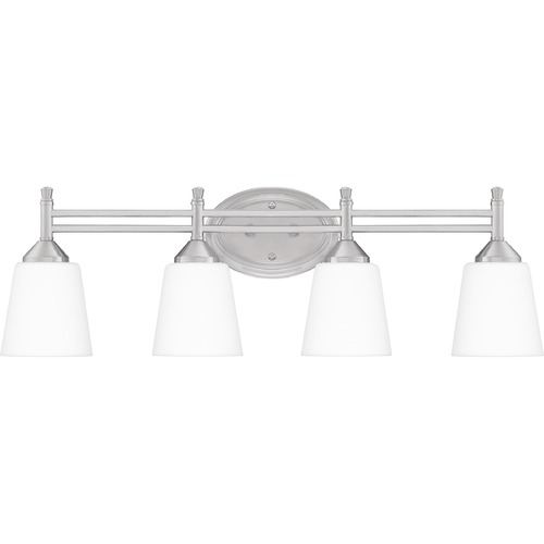 Quoizel Lighting Quoizel Lighting Billingsley Brushed Nickel Bathroom Light BLG8628BN