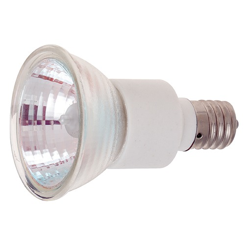Satco Lighting Halogen JDR Light Bulb Intermediate Base Flood 36 Degree Beam Spread 2900K 120V Dimmable S3435